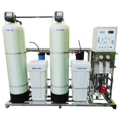 RO system with double softener